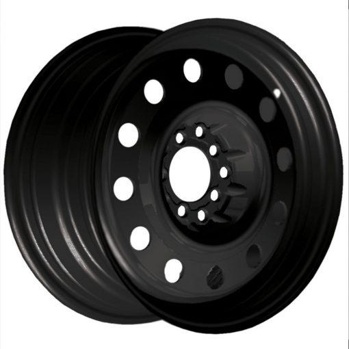 Pacer Rims 84B FWD Black Mod MATTE BLACK
