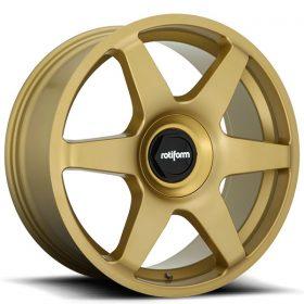 R118 SIX MATTE GOLD