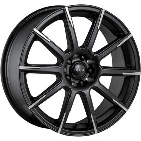 452SB F-52 Black Machined