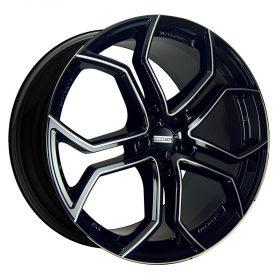 185BM 9XR Black Milled