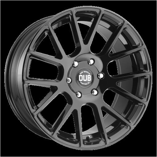 DUB Rims S205 LUXE GLOSS BLACK