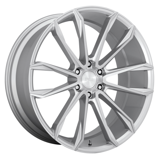 DUB Rims S248 CLOUT GLOSS SILVER BRUSHED