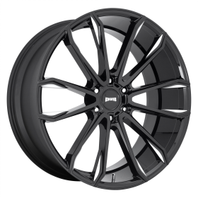 DUB Rims S252 CLOUT GLOSS BLACK MILLED
