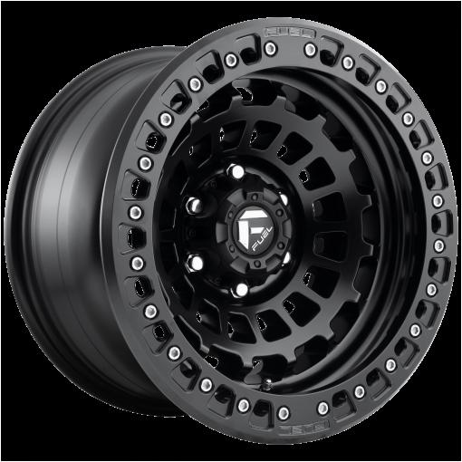 Fuel Rims D101 ZEPHYR BL - OFF ROAD ONLY MATTE BLACK
