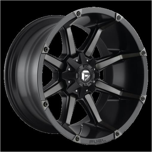 Fuel Rims D556 COUPLER MATTE BLACK DOUBLE DARK TINT