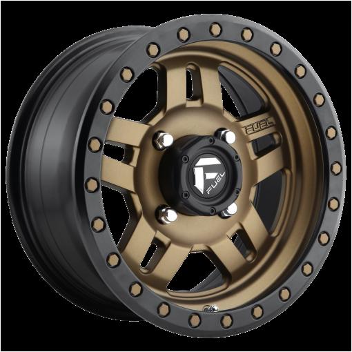 Fuel Rims D583 ANZA MATTE BRONZE BLACK BEAD RING