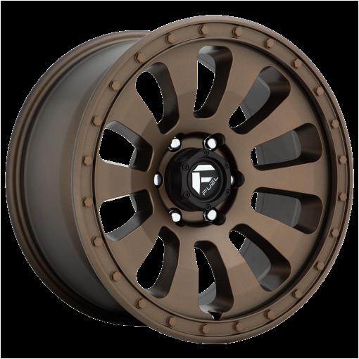 Fuel Rims D678 TACTIC MATTE BRONZE