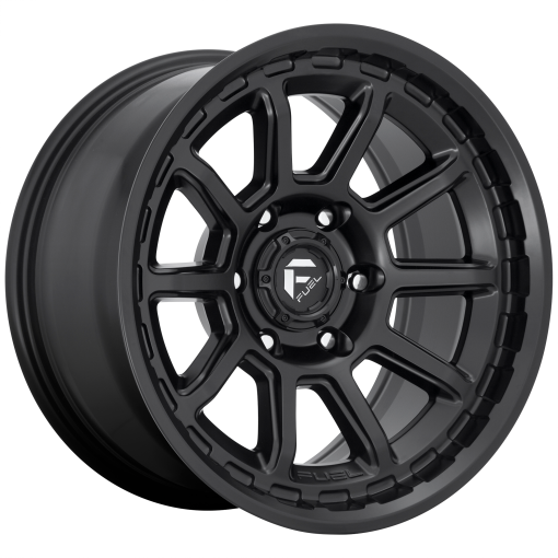 Fuel Rims D689 TORQUE MATTE BLACK