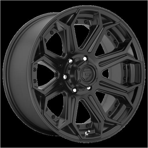 Fuel Rims D706 SIEGE PLATINUM MATTE BLACK