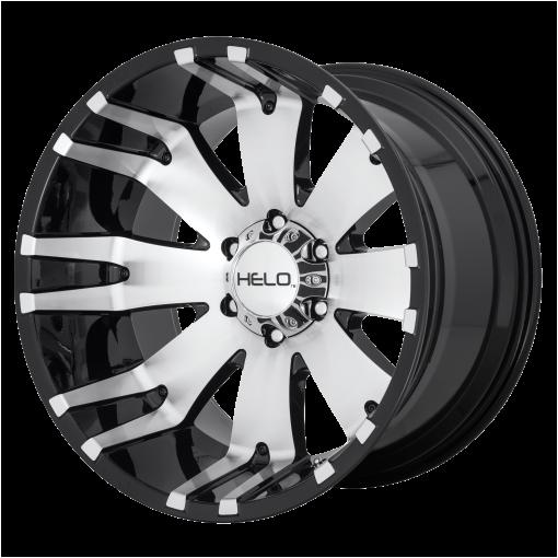 HELO Rims HE917 GLOSS BLACK MACHINED