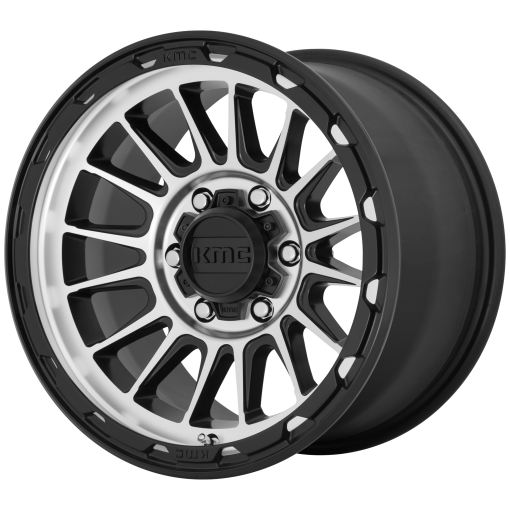 KMC Rims KM542 IMPACT Satin Black Machined