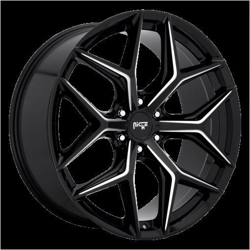 Niche Rims M232 VICE SUV GLOSS BLACK MILLED