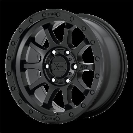 XD Series Rims XD143 RG3 SATIN BLACK