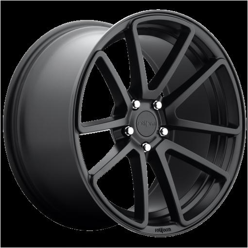 Rotiform Rims R122 SPF MATTE BLACK