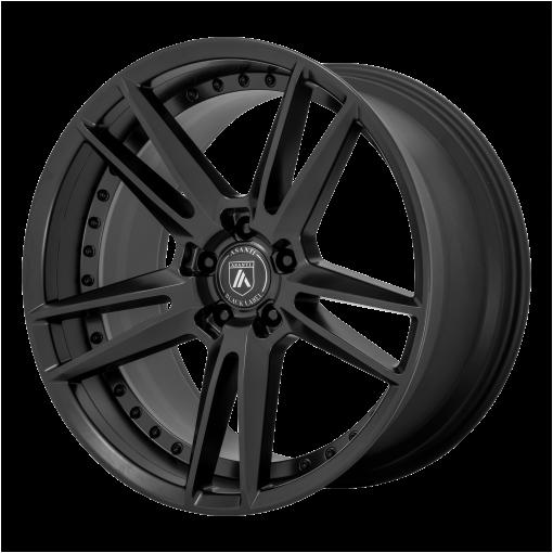 Asanti Black Rims ABL-33 REIGN SATIN BLACK