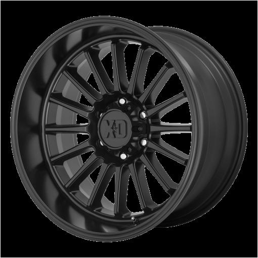 XD Series Rims XD857 WHIPLASH SATIN BLACK