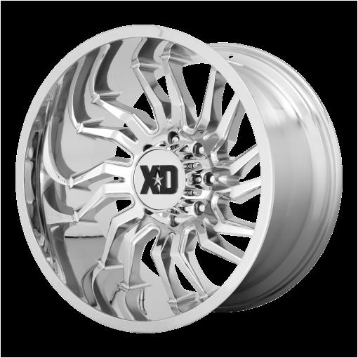 XD Series Rims XD858 TENSION CHROME