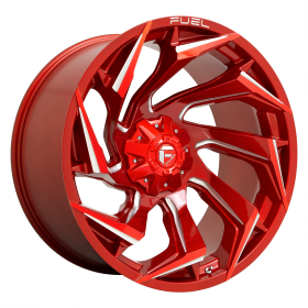 D754 REACTION CANDY RED MILLED