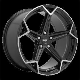 N259 ARROW GLOSS BLACK BRUSHED