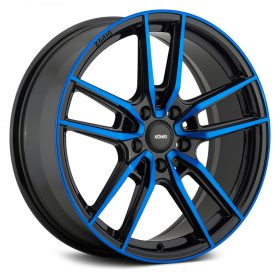 55BB MYTH GLOSS BLACK WITH BLUE TINTED CLEAR-COAT
