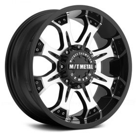 164M MM-164M DIAMOND CUT FACE WITH GLOSS BLACK ACCENTS AND CLEAR-COAT