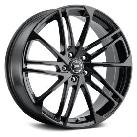 463BK VALOR GLOSS BLACK WITH DIAMOND CUT ACCENTS AND CLEAR-COAT