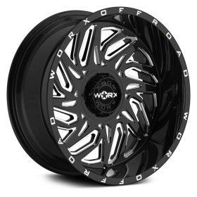 817BM GLOSS BLACK W/MACHINED FACE