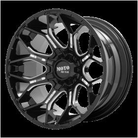 MO808 SNIPER Gloss Black Milled