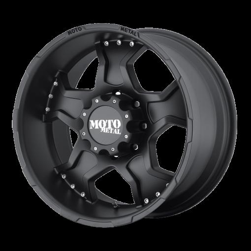 Moto Metal Rims MO957 MATTE BLACK
