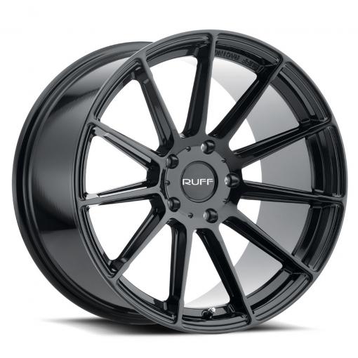 Ruff Rims RS2 GLOSS BLACK