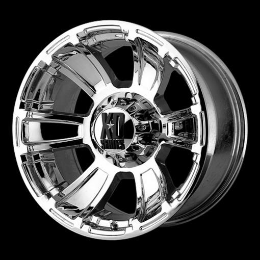 XD Series Rims XD796 REVOLVER CHROME