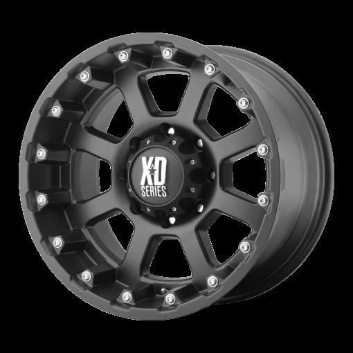 XD Series Rims XD807 STRIKE MATTE BLACK