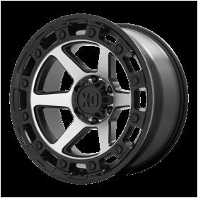 XD862 RAID Satin Black Machined